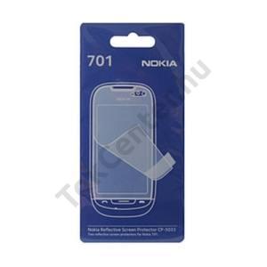 Nokia 701 Képernyővédő fólia (2 db-os) TÜKRÖS/Mirror Screen