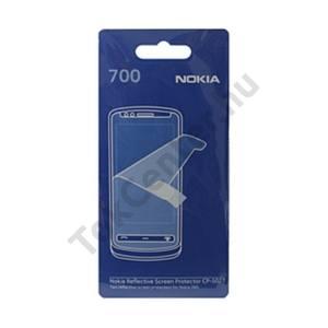 Nokia 700 Képernyővédő fólia törlőkendővel (2 db-os) TÜKRÖS/Mirror Screen
