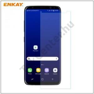 SAMSUNG Galaxy A5 (2016) (SM-A510F) ENKAY képernyővédő fólia (1 db, edzett üveg, 2.5D lekerekített szél, karcálló, 0.26mm, 9H, NEM ÍVES) TEMPERED GLASS