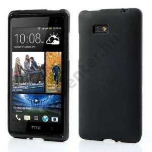 HTC Desire 600 Telefonvédő gumi / szilikon FEKETE