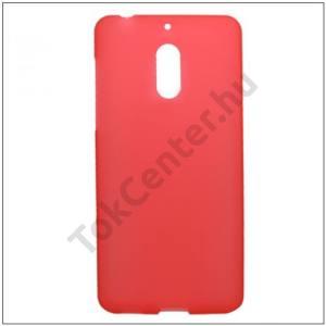 NOKIA 3 Műanyag telefonvédő (gumírozott) PIROS