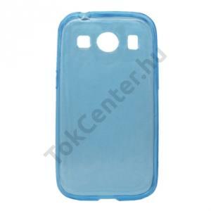Samsung Galaxy Ace 4 LTE (SM-G357FZ) Telefonvédő gumi / szilikon (ultravékony) ÁTLÁTSZÓ KÉK