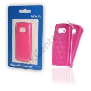 Nokia X1-01 Műanyag telefonvédő MAGENTA