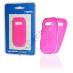 Nokia 1616 Telefonvédő gumi / szilikon MAGENTA