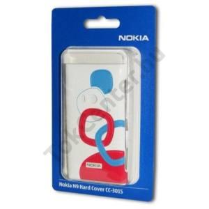 Nokia N9-00 Műanyag telefonvédő FEHÉR