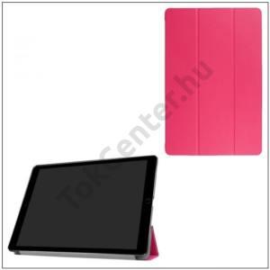 HUAWEI MediaPad T3 10 LTE /HUAWEI MediaPad T3 10 WIFI Tok álló, bőr (FLIP, oldalra nyíló, TRIFOLD asztali tartó funkció) RÓZSASZÍN (készleten!)