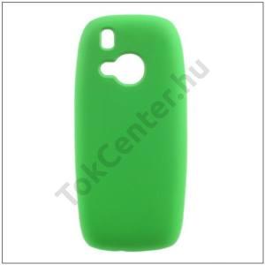 NOKIA 3310 (2017) Műanyag telefonvédő (gumírozott) ZÖLD