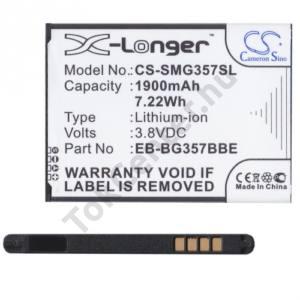 Samsung Galaxy Ace 4 LTE (SM-G357FZ) Akku 1900 mAh LI-ION (EB-BG357BBEG kompatibilis)