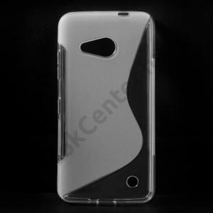 Microsoft Lumia 550 Telefonvédő gumi / szilikon (S-line) ÁTLÁTSZÓ