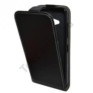 Microsoft Lumia 550 Tok álló, bőr (FLIP, mágneses) FEKETE