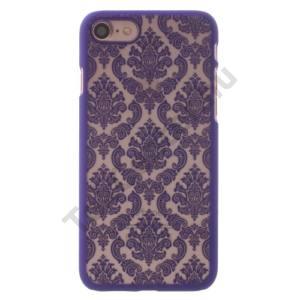 Apple iPhone 7 /APPLE IPhone 8 4,7`` Műanyag telefonvédő (damaszkuszi virágminta) LILA