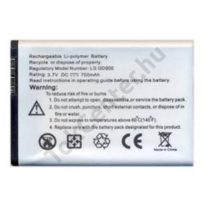 LG BL40 New Chocolate Akku 700 mAh LI-Polymer (LGIP-520N/SBPL0099201 kompatibilis)