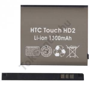 HTC HD 2 (T8585) Akku 1300 mAh LI-ION (BA S400 kompatibilis)