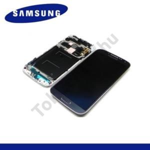 Samsung Galaxy S IV. (GT-I9500) LCD kijelző komplett panel (kerettel, érintőpanellel) FEKETE
