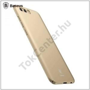 HUAWEI Honor 9 BASEUS műanyag telefonvédő (ultravékony) ARANY