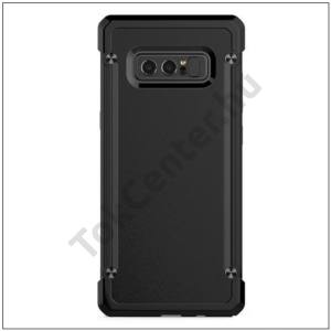 SAMSUNG Galaxy Note 8 Defender műanyag telefonvédő (közepesen ütésálló, gumi / szilikon belső) FEKETE