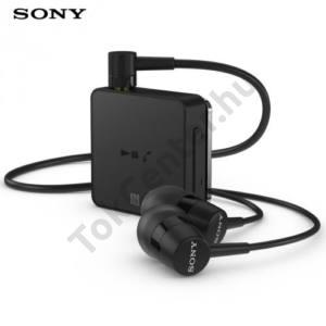 BLUETOOTH fülhallgató (Sony) vezetékes SZTEREO, NFC, FEKETE multipoint (SBH24_B)