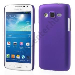 Samsung Galaxy Express 2 (SM-G3815) Műanyag telefonvédő gumírozott LILA