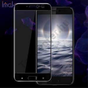 HTC U11 IMAK képernyővédő fólia (1 db-os, 3D full cover, íves, ultravékony előlap, edzett üveg, karcálló, 9H) ÁTLÁTSZÓ