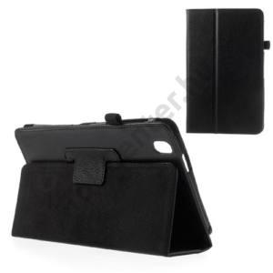 Samsung Galaxy Tab Pro 8.4 3G (SM-T321) Tok álló, bőr (FLIP, mágneses, oldalra nyíló, asztali tartó funkció) FEKETE