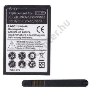 LG G3 (D850) Akku 3500 mAh LI-ION (BL-53YH kompatibilis)