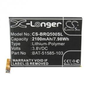 BLACKBERRY Q5 Akku 2100 mAh LI-Polymer (belső akku, beépítése szakértelmet igényel! BAT-51585-003 kompatibilis)