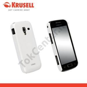 Samsung Galaxy Ace 2 (GT-I8160) KRUSELL ColorCover műanyag telefonvédő FEHÉR