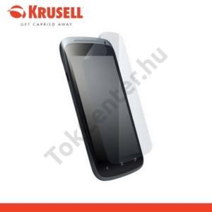HTC One S (Z520e) KRUSELL képernyővédő fólia, törlőkendővel  (1 db-os) ultravékony, környezetbarát anyagból