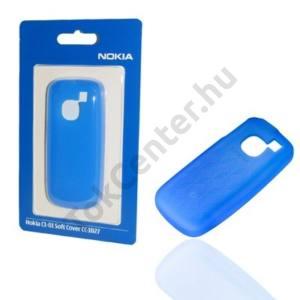 Nokia C1-01 Telefonvédő gumi / szilikon KÉK