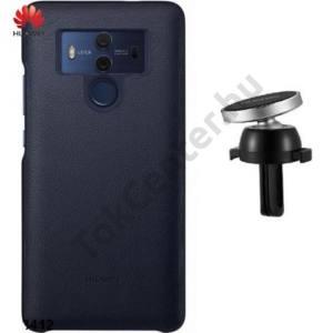 HUAWEI Mate 10 Pro Kezdőcsomag (műanyag telefonvédő, AF13 gépkocsi / autó tartó) SÖTÉTKÉK