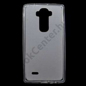 LG G Flex2 (H955) Telefonvédő gumi / szilikon (fényes keret) ÁTLÁTSZÓ