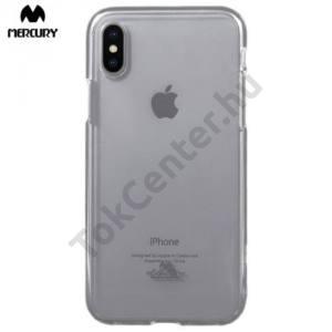 APPLE IPhone X 5,8`` MERCURY Goospery telefonvédő gumi / szilikon ÁTLÁTSZÓ