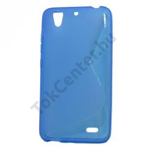 Huawei Ascend G630 Telefonvédő gumi / szilikon (S-line) KÉK