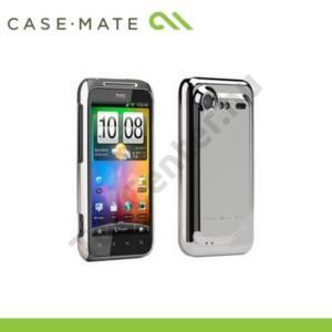 HTC Incredible S (S710e) CASE-MATE műanyag telefonvédő BARELY THERE (képernyővédő fólia, tisztítókendő) - EZÜST