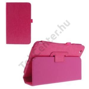 LG G Pad 8.3 (V500) Tok álló, bőr (FLIP, mágneses, oldalra nyíló, asztali tartó funkció) MAGENTA