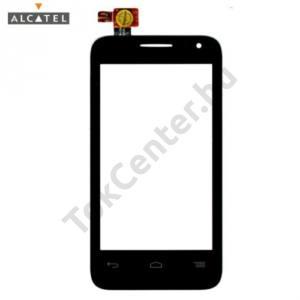 Alcatel Pop D3 (OT-4035D) Plexi ablak, érintőpanellel FEKETE