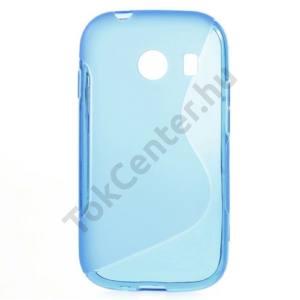 Samsung Galaxy Ace Style (SM-G310) Telefonvédő gumi / szilikon (S-line) KÉK
