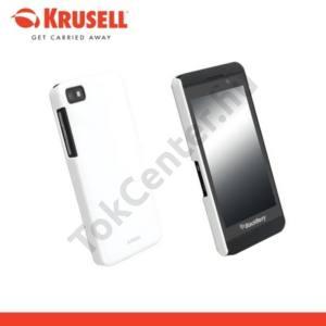 BlackBerry Z10 KRUSELL ColorCover műanyag telefonvédő METÁLFEHÉR