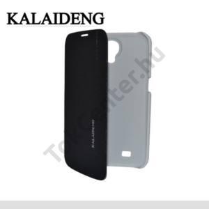 Samsung Galaxy Mega 6.3 (GT-I9200) KALAIDENG ICELAND tok álló, bőr (FLIP, oldalra nyíló) FEKETE