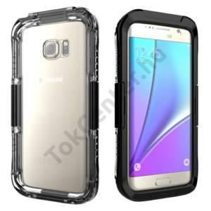Samsung Galaxy S7 EDGE (SM-G935) Vízhatlan / vízálló tok, AQUA (6 méterig) FEKETE