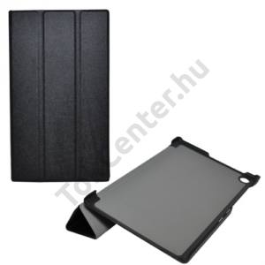 Asus Memo Pad 7 (ME572C) Tok álló, bőr (FLIP, mágneses, oldalra nyíló, TRIFOLD, asztali tartó funkció) FEKETE