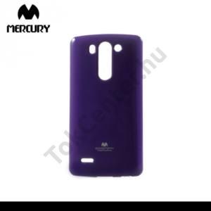 LG G3 S (D722) MERCURY Goospery telefonvédő gumi / szilikon (csillámporos) LILA