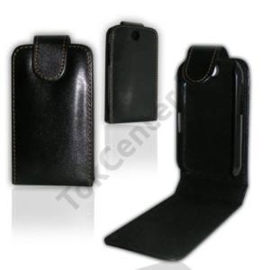 LG Optimus Me (P350) Tok álló, bőr (FLIP, mágneses) FEKETE