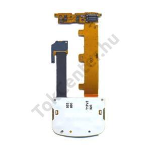 Nokia 2680 Slide Billentyűzet fólia billentyűzet panellel, átvezető szalagkábellel (funkciógomb rész)