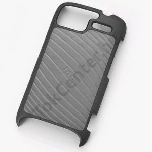 HTC Sensation (Z710e) Műanyag telefonvédő FEKETE