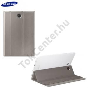 Samsung Galaxy Tab S2 8.0 (SM-T710) WIFI Műanyag telefonvédő (FLIP, oldalra nyíló, asztali tartó funkció) ARANY