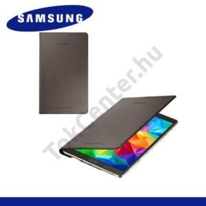 Samsung Galaxy Tab S 8.4 LTE (SM-T705) Telefonvédő, bőr Simple Cover (előlap védelem) BRONZ