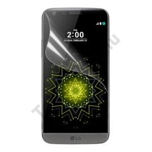 LG G5 (H850) Képernyővédő fólia törlőkendővel (1 db-os, full screen, íves, öntapadós PET, nem visszaszedhető) CLEAR