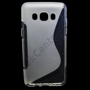 Samsung Galaxy J5 (2016) (SM-J510) Telefonvédő gumi / szilikon (S-line) ÁTLÁTSZÓ