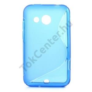 HTC Desire 200 Telefonvédő gumi / szilikon (S-line) KÉK